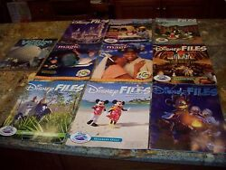 10 Old Disnesy Files Great Condition No Reserve....cheap