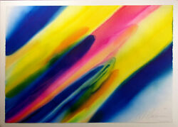 Marvin Markman Original Watercolor Painting abstract fine art 1982 Make Offer!