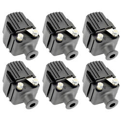 Ignition Coils For Mercury Outboard 200hp 200 Hp Engine 1973-80 1982-99 6-pack