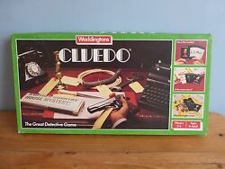 waddingtons cluedo complete good clean