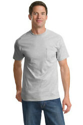 Port And Company - Tall Essential T-shirt With Pocket. Pc61pt Mens