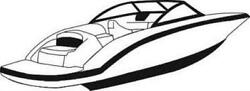 7oz STYLED TO FIT BOAT COVER FORMULA SUN SPORT 270 SS 2011-2014