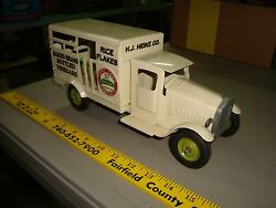 h j heinz co toy truck metalcraft tires
