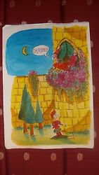 Special Original Art Collection From The Best European Cartoonist