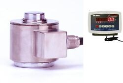 Compression Scale 300000 X 10lbcanister Stainless Steel Load Cell Indicator