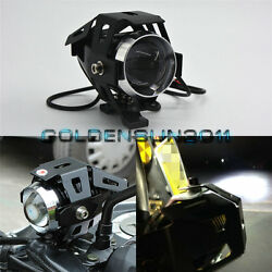 HID White U5 Transformers Style CREE LED Fog Spot Light Headlight For Motorcycle
