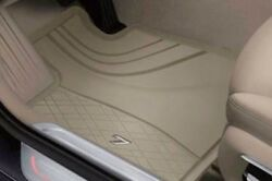 Genuine Bmw All Weather Rubber Floor Mats Front Rear G11 7 Series Beige Lhd