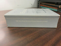 1981 Peace Corps Directory Former Volunteers And Staff Ppb Free Ship