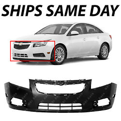 NEW Primered Front Bumper Cover Fascia for 2011 2014 Chevy Chevrolet Cruze $95.69