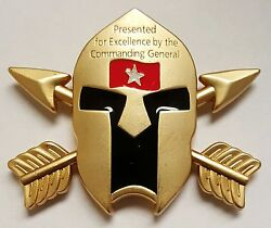 Us Army Special Forces Command A Commanding General Spartan Coin 4 Excellence