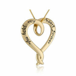 You Hold My Heart Forever Valentineandrsquos Day Necklace Anniversary Gift Present