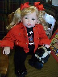 reborn cuddles toddler doll donna rubert