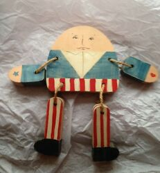 wooden humpty dumpty shelf sitter marked