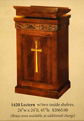 + New Pulpit + Lectern + Readers Stand + 1420 + + + Chalice Co. +
