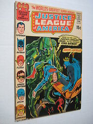2 Vintage Old Collectible Justice League Dc Comic Books 87 Fn+ And 89 Vf Lot