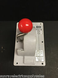 Hubbell Industrial Hc4211-3357s13f 3sp Flush Mount Mini Master Switch New