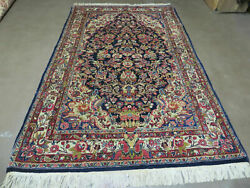 4' X 7' Antique Fine Hand Made Pakistan Oriental Wool Rug Hand Knotted Carpet