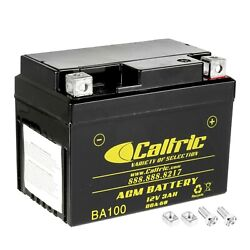 Caltric Agm Battery For Honda Crf110f 2013 2014 2015 2016 2017 2018