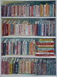 Library Full Of John Kilduff Art Books 40 X 30