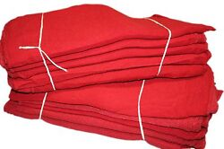 15000 Pcs Red Cotton Shop Towels Ragsfirst Grade New Wipers