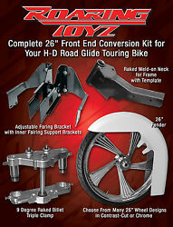 26 Inch Front End Wheel Tire Kit Harley Bagger Roadglide Road Glide Touring FLHR