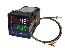 12V DC Dual Display Digital PID FC Temperature Controller with K Thermocouple