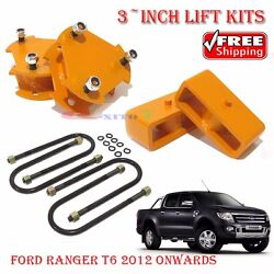 True Suspension 3-inches Lift Up Kits 4x4 Ford Ranger T6 Px Xl 2012 Mazda Bt50