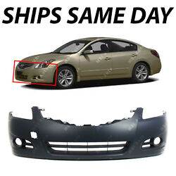 NEW Primered Front Bumper Cover Fascia for 2010 2011 2012 Nissan Altima Sedan $83.99
