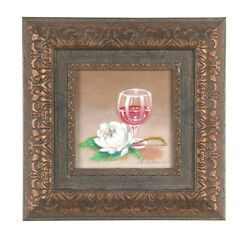 A Pleasant Bouquet By Anthony Sidoni 2007 Signed Oil Painting 11 1/2x11 1/2