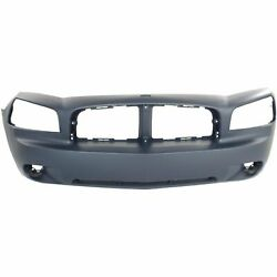 New Fits 2006-2010 Dodge Charger Sedan Ch1000461 Front Bumper Cover Primed