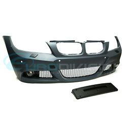 BMW 3 Series E90 LCI Sedan M-Sport Style Front Bumper-With Headlight Washers