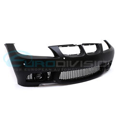 BMW 3 Series E90 LCI Sedan M3 Style Front Bumper-No Headlight Washer