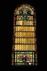 + Nice Older Large Stained Glass Windows + 47 X 125 + 3 Of These Available +