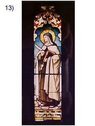 + Fine Older Church Stained Glass Window + Shipping Available + Chalice Co.