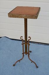 + Antique Credence Table + Traditional Church Table For Gifts + Chalice Co. +