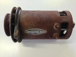 6 Volt Autolite Charging Generator For Core Removed From 1940 Studebaker