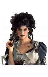 Little Priss Miss Muffet Gothic Vampire Adult Womens Black Curly Wig