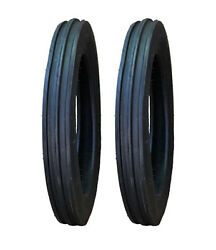 2 New 4.00-19 4-19 Atf Front Tractor Tires Fits Ford 8n 9n 400 19