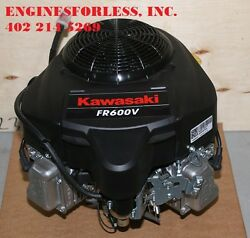 18 Gross Hp Kawasaki Fr600vbs51r Engine For Lawn Tractors And Zero-turn Mowers