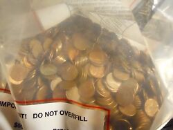 50 Lbs Copper Bullion Pennies 1959-1982 Us Cents By The Pound W/ Wheat Backs And..