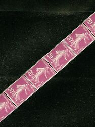 France 1926. Maury Roulette 14 Strip Of 11. Very Fine, Mint Nh. Catalog €385.