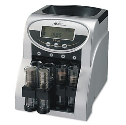 New Fast Coin Sorter Change Machine Money Counter Count Wrapper Electric Digital