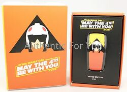 New Disney May The 4th Be With You Magicband Luke Skywalker Magic Band Le 750