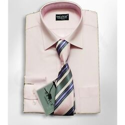 Boys Formal Pink Shirt And Tie Set Wedding Prom Kids Smart Device Suit Shirts