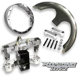 26 Inch BOLT ON Raked Triple Trees Neck Kit Harley Bagger Road Glide 2015 2016