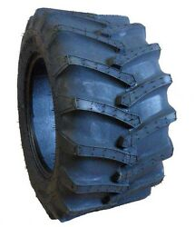 Two 23x8.50-12 Firestone Flotation 23 Lawn And Garden Tractor Lug Tires 23 850 12