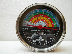 Farmall Ih 300 And 350 Utility Gas Tractor Hour Meter / Tachometer - 363829r91