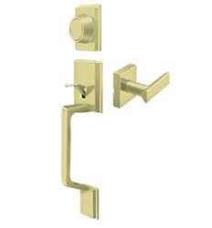 Highgate Dummy Door Handleset With Zinc Livingston Lever In 4 Finishes By Fpl