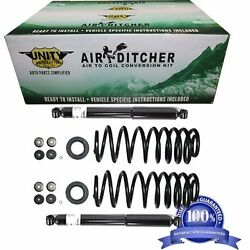 D 1997-2002 65001 Expedition Navigator Rear Coil Springs Strut 4wd 2200ll
