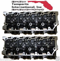 NEW FORD 6.0 18MM TURBO DIESEL F250 F350 F450 TRUCK  LOADED CYLINDER HEAD PAIR